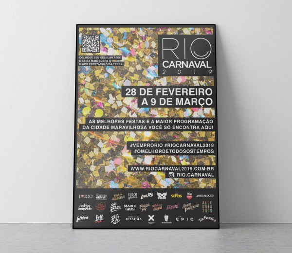 Material Promocional Rio Carnaval